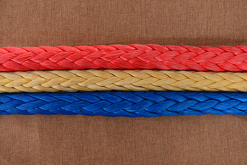 Uhmwpe mooring rope of 8-strand and -12-strand
